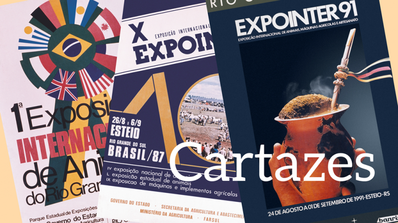 Cartazes da Expointer